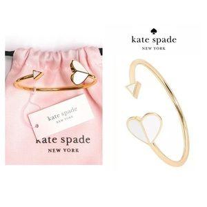 NWTKate Spade♠️12-K Gold Plated Flex Bracelet